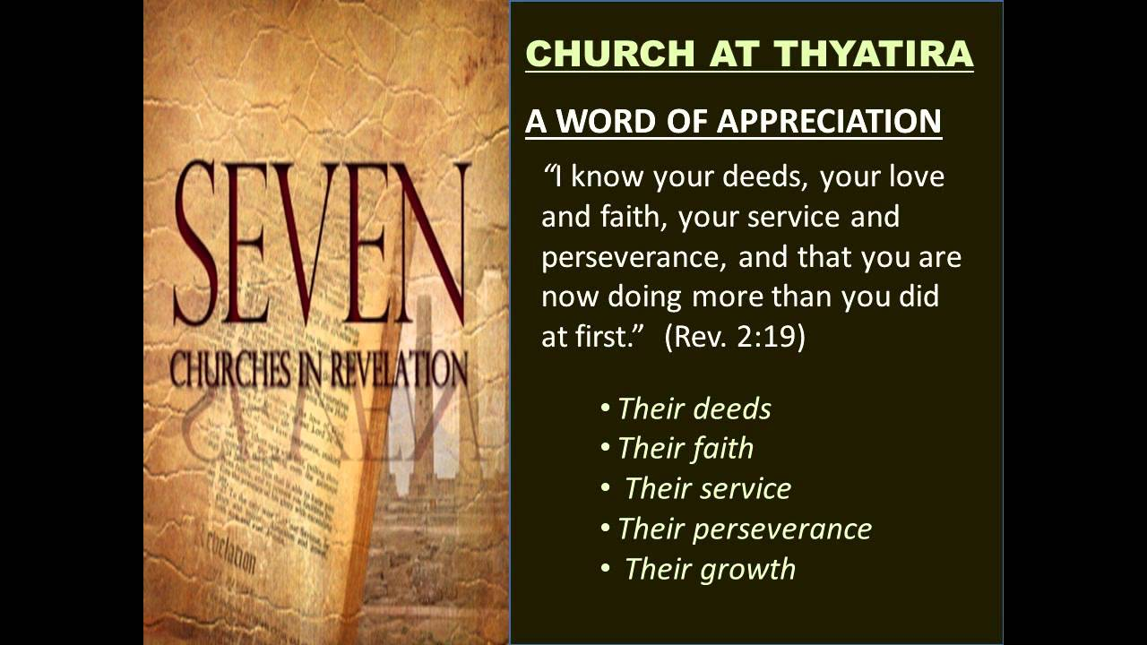 Revelation 2-18 helps for the church