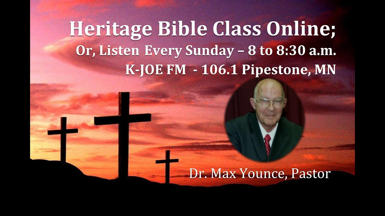 revelation-25- dr max younce pastor