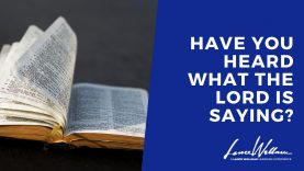 have you heard what the Lord is saying now for 2020 – Lance Wallnau