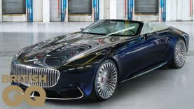 This is the incredible insane supercar Mercedes Maybach 650 Cabriolet by British GQ