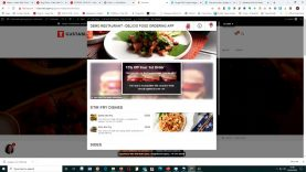Live demo of the Delicio Restaurant Food Ai Food Ordering App and Delivery System – Clip 5